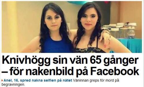 mord nakenbild fb