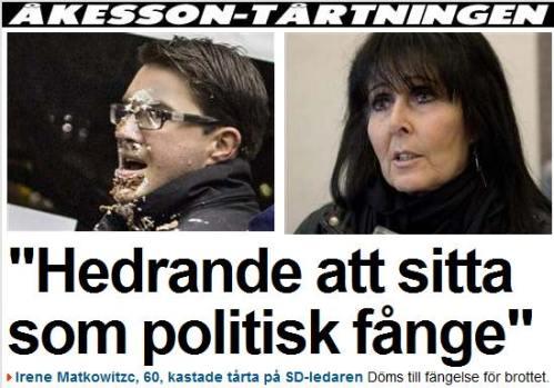 politisk fånge ???