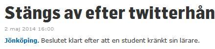Twitterhån Jposten