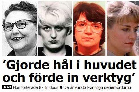 aftonbladet kvinnliga seriemördare