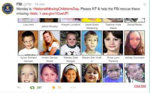 #NationalMissingChildrensDay