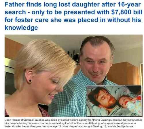 pappa dotter fosterhem