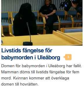 SV yle fi Uleåborg barnamord