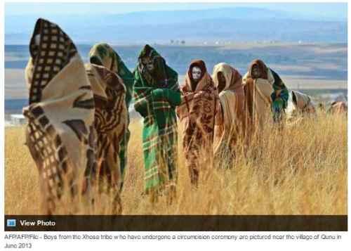 AFP AFP File - Xhosa