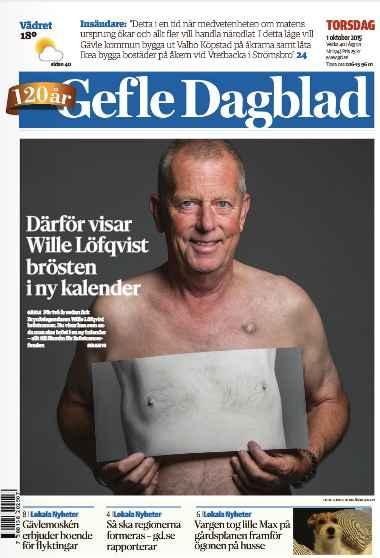 Gefle Dagblad 1/10 2015