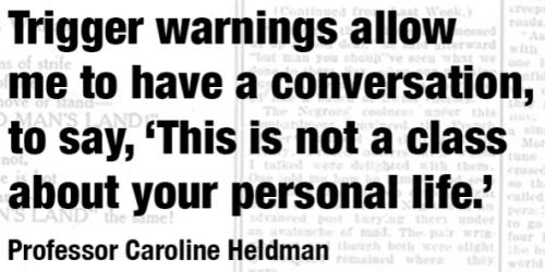 trigger Caroline Heldman