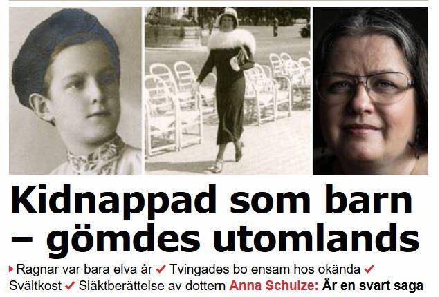 Familj atalad for kidnappning av dotter